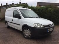 Vauxhall combo dual fuel 2009