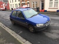 Peugeot 106 with low miles ,full history,very good condition px welcome