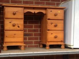 pine dressers table for sale