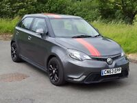 2013 63 MG3, 1.5 VTi-Tech (105bhp) 3-Form, 16,000 Miles, One Owner, Black Alloys, Bluetooth, Warr...
