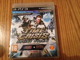 PS3 time crisis