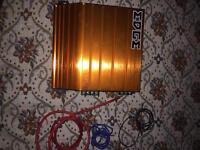 Edge amp bass box sub woofer audio tape