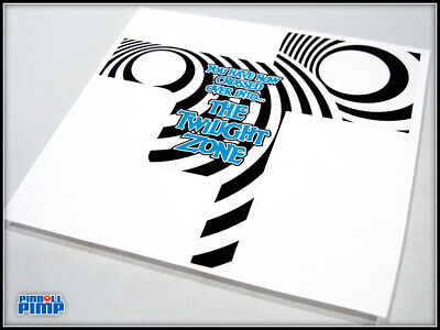 Bally Pinball Twilight Zone Pinball - SPIRAL VORTEX Ball Diverter DECAL MOD!