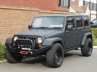 Jeep Wrangler CRD SPORT UNLIMITED (2009/59) + MAD MAX TRUCK + MATT BLACK + WINCH + REMOVEABLE TOP +
