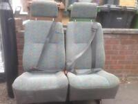 2 SEATER DOUBLE WITH BELTS WILL FIT ANY VAN