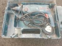 Sds Bosch drill 240v