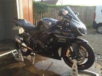 BLACK 2012 GSXR L2 1000