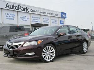 2014 Acura RLX 6-Spd AT w/Advance Package| Nav| Sunroof