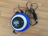 CD/MP Hitachi Portable Player with carry case