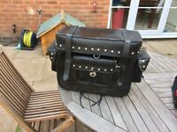 Large Leather saddle bag/pannier