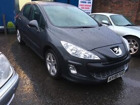 Stunning 2008 08 Peugeot 308 1.6Hdi Sport 5Dr **3 Owners+Only 86000+Full History+Mot Aug 2017**