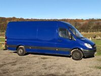 MERCEDES SPRINTER 311 CDI LWB DIESEL 2008 08-REG FULL SERVICE HISTORY DRIVES EXCELLENT