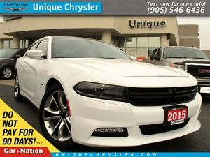 2015 Dodge Charger R/T | 370HP | NAVI | HEAT & VENT SEATS | 20 A