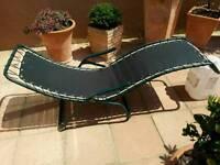 Collapsible Tilting/Rocking Sunbed (Homebase)