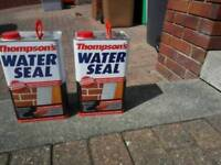 Thompsons Water Seal (7 litres) in new condition. Not required any more.