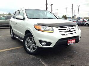 2010 Hyundai Santa Fe Limited 3.5, leather, roof racks, tow pack