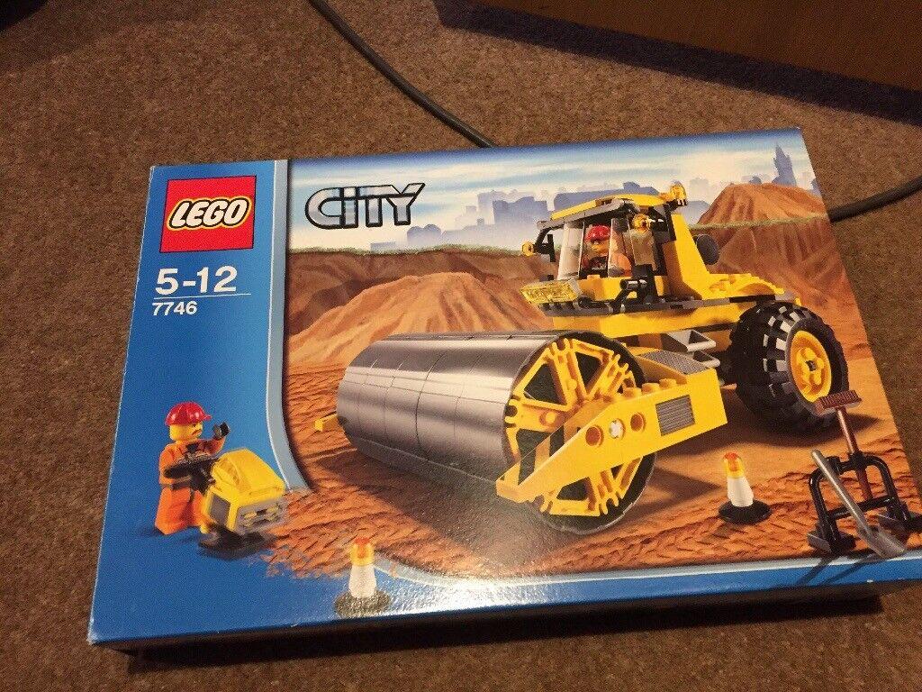Lego city 7746 roller