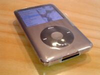 APPLE iPOD CLASSIC 160GB, BLACK/GREY 7TH GEN –Mint Condition, Barely Used still with Cellophane on!