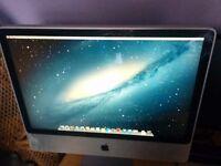 """iMac 24"""" early 2008 2.8GHz 4gb ram OSX 10.8.5"""