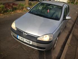 Vauxhall Corsa 1.2 sxi Easytronic Spares or Repairs
