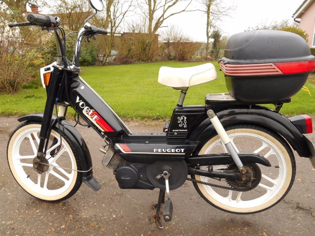 peugeot 103 vogue classic moped 1989 in woodbridge. Black Bedroom Furniture Sets. Home Design Ideas