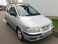 Hyundai Matrix 1.6 GSi 5dr 66K+VGC+DRIVES WELL+MOT-03-18