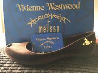 Vivienne Westwood Melissa shoe with box