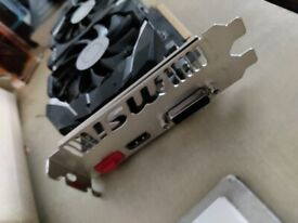 MSI GTX 1050 Ti 4GT OC GeForce 4GB GDDR5