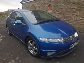 Honda Civic Diesel Top Spec ** 1 YEAR MOT ** SUNROOF ** CLEAN CONDITION ** LOOKS AND DRIVES SUPERB