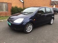 Ford Fiesta 2003 12.5 petrol