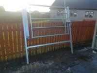 Two way galvanised bridal gate farm livestock tractor