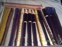 3 AULOS , 1 SCHWARTZ , 1 HOHNER , 1 WOODEN and a FEW EXTRA ODDITIES ? £ 5 EACH +++