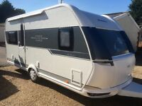 Hobby Caravan De luxe (2015) One Owner From New. With Canopy Awning. like tabbert and fendt