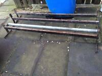 transit roof bars with roller