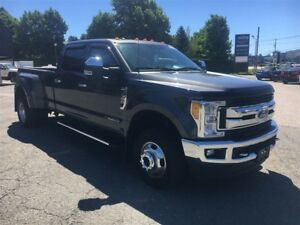 2017 Ford F-350 XLT+FX4+NAVIGATION+DOUBLE ROUES