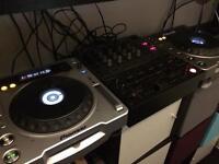 pioneer DJ setup tractor scratch pro flights case