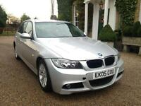 BMW 320i 4 DOOR NEW SHAPE 2005 FULLY LOADED 2 KEYS DRIVES THE BEST LONG MOT