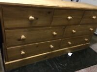 For Sale solid Pine Chest Of Drawers