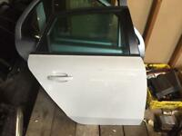 Audi A4 s4 b8 b8.5 saloon white rear driver o/s door s line SE 2008-2015