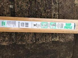 American white oak door ramp trim