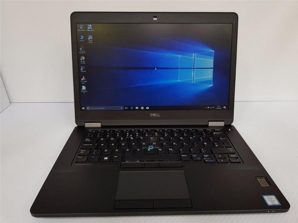 Dell Latitude E5470, i5-6400U CPU 2.6, 8GB DDR4 RAM, 256GB MSSD, Win10, 8 hours battery