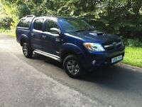 2009 TOYOTA HILUX 3.0 D4D automatic , 1 owner , fsh,
