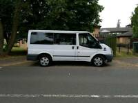 Ford Tourneo minibus. 58 plate. 12 months mot.