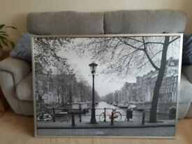 Ikea Amsterdam wall picture