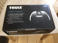 Thule foot pack 753 rapid system