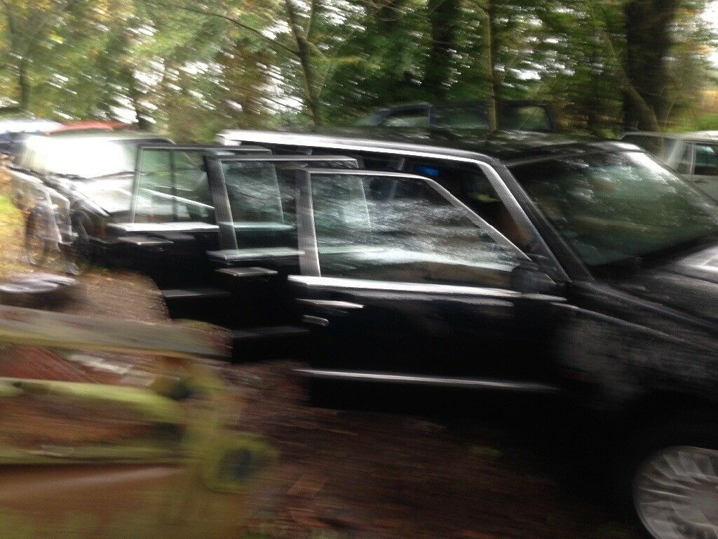Volvo 760 stretch limo