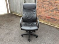 Office styled reclinable chair