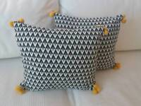 2 x Lovely Small Cushions