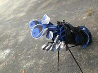 Right handed 15 piece golf set