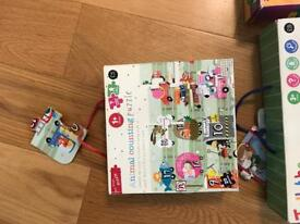 Jigsaw counting 1-20 m&s